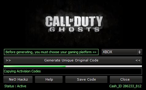 Call Of Duty Key Code Generator